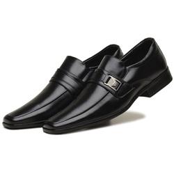 Sapato Social Masculino em Couro Ecologico Confort... - D&R SHOES