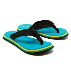 Sandalia Sândalo Confort Inoah Azul - D&R SHOES