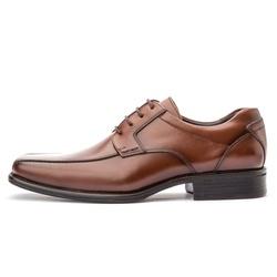 Sapato Social Masculino Premium Em Couro Legítimo Whisky - D&R SHOES