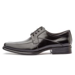Sapato Social Masculino Premium Em Couro Legítimo Preto - D&R SHOES