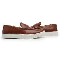 MOCASSIM PENNY WHISKY - D&R SHOES