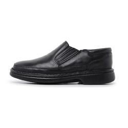 Sapato Masculino Conforto em Couro Carneiro Legitimo Luflex Preto - D&R SHOES