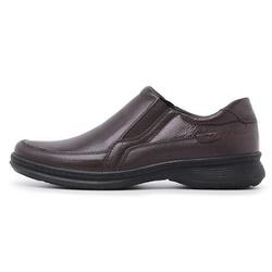 Sapato Masculino Conforto em Couro Carneiro Legitimo Luflex Preto. - D&R SHOES