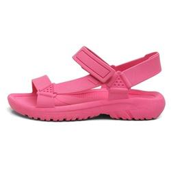 Sandália Feminina Casual Melina Flatform Confortável Pink - D&R SHOES