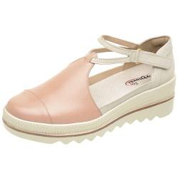 Sapato de Couro Feminino Couro Legítimo - D&R SHOES