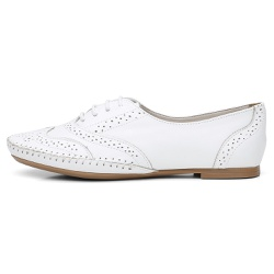 Sapato Oxford Feminino em Couro Legítimo Confort B... - D&R SHOES
