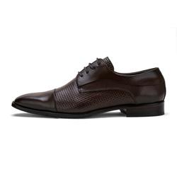 Sapato Social Masculino Stable Texturizado Ee Cour... - D&R SHOES