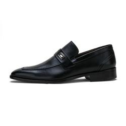Sapato Social Masculino Fechado em Couro Legítimo ... - D&R SHOES