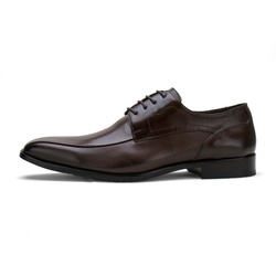 Sapato Social Masculino Stable Elegance Em Couro Café - D&R SHOES
