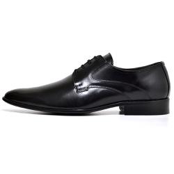 Sapato Social Masculino Gala Em Couro Legitimo Pre... - D&R SHOES