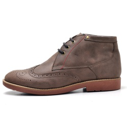 Sapato Oxford Masculino em Couro Legitimo Fossil Tabaco - D&R SHOES