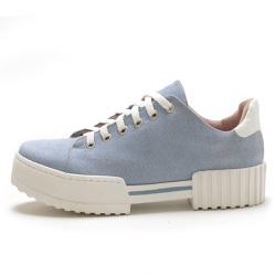 Tênis feminino casual sola alta SB Shoes Jeans Cla... - D&R SHOES