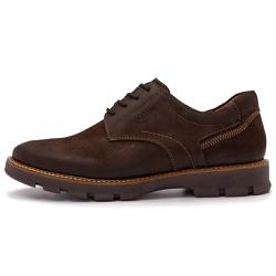 Sapato Casual Masculino Michigan Em Couro Jade Café - D&R SHOES