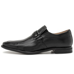 Sapato Social Masculino Parma Em Couro Comfort Preto - D&R SHOES