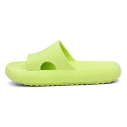 Chinelo Nuvem Slide Flexivel Confortável Verde - D&R SHOES