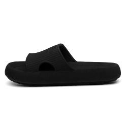 Chinelo Nuvem Slide Flexivel Confortável Preto - D&R SHOES