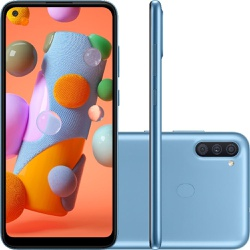 Smartphone Samsung Galaxy A11 64GB - Azul - 002 - DISTRIBUIDORDECELULARES