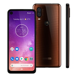 Smartphone Motorola One Vision 128GB Bronze - 021 - DISTRIBUIDORDECELULARES