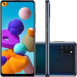 Smartphone Samsung Galaxy A21s 64GB Dual Chip Andr... - DISTRIBUIDORDECELULARES