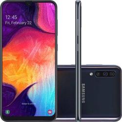 Smartphone Samsung Galaxy A50 Android 9.0 Tela 6.4... - DISTRIBUIDORDECELULARES