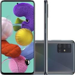 Smartphone Samsung Galaxy A51 Preto 128GB, Tela In... - DISTRIBUIDORDECELULARES