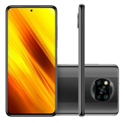 Smartphone XiaomÍ Poco X3 Cinza 128GB, Tela de 6,6... - DISTRIBUIDORDECELULARES