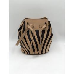 Bolsa Izadora Zebra Bege - Divina Luz