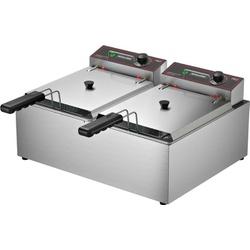 Fritadeira Elétrica 10 Litros 220V FRCE10 - Metalc... - Dom Pedro Refrigeração - Tudo para o seu negócio.