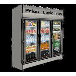 Expositor Vertical Auto Serviço 3 Portas Economic ... - Dom Pedro Refrigeração - Tudo para o seu negócio.