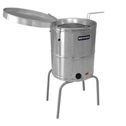 Fritadeira Elétrica Água e Óleo 30 litros - Metvis... - Dom Pedro Refrigeração - Tudo para o seu negócio.