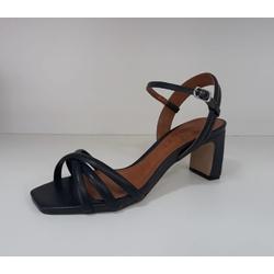 Sandália metalizada couro Eclipse Donna Clô - 339.... - DONNACLO