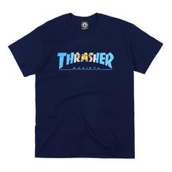 Camiseta Thrasher Argentina Navy - 3014 - DREAMSSKATESHOP