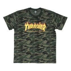 Camiseta Thrasher Flame Mag Camo - 3177 - DREAMSSKATESHOP