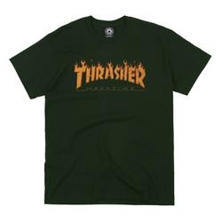 Camiseta Thrasher Halftone Green - 2683 - DREAMSSKATESHOP