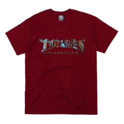 Camiseta Thrasher Hieroglyphics Burgundy - 3251 - DREAMSSKATESHOP