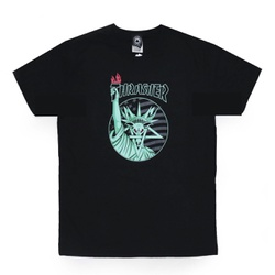 Camiseta Thrasher Liberty Goat Black - 3180 - DREAMSSKATESHOP