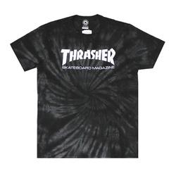 Camiseta Thrasher Skate Mag Spider Dye Black - 318 - DREAMSSKATESHOP