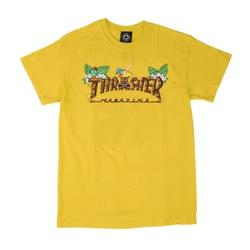 Camiseta Thrasher Tiki Amarelo - 3015 - DREAMSSKATESHOP