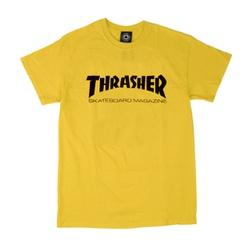 Camiseta Thrasher Skate Mag Yellow - 2114 - DREAMSSKATESHOP