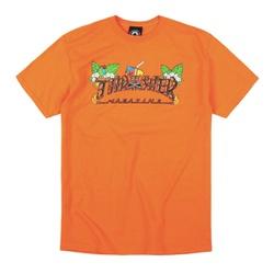 Camiseta Thrasher Tiki Laranja - 3015 - DREAMSSKATESHOP