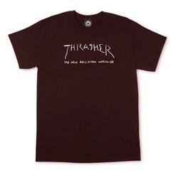 Camiseta Thrasher New Religion Bordô - 2308 - DREAMSSKATESHOP