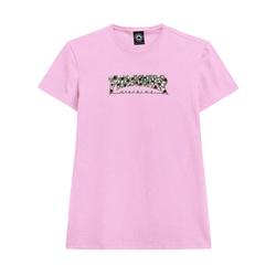 Camiseta Thrasher Feminina Roses Pink - 3016 - DREAMSSKATESHOP