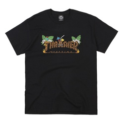 Camiseta Thrasher Tiki Black - 3015 - DREAMSSKATESHOP