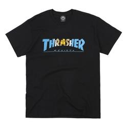 Camiseta Thrasher Argentina Black - 3014 - DREAMSSKATESHOP