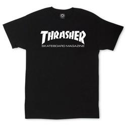 Camiseta Thrasher Skate Mag Black - 2114 - DREAMSSKATESHOP