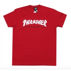 Camiseta Thrasher Godzila Red - 2684 - DREAMSSKATESHOP