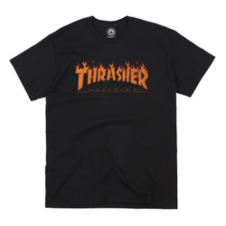 Camiseta Thrasher Halftone Black - 2683 - DREAMSSKATESHOP