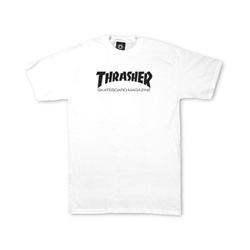 CAMISETA THRASHER SKATE MAG WHITE - 2114 - DREAMSSKATESHOP