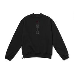 Sweatshirt Class Jules Rimet Black - 3239 - DREAMSSKATESHOP