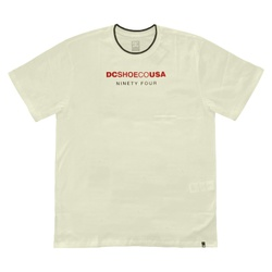 Camiseta DC Shoes Especial Pickens Snow White - 24... - DREAMSSKATESHOP